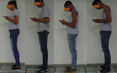 Does 'text neck syndrome' lead to neck pain?